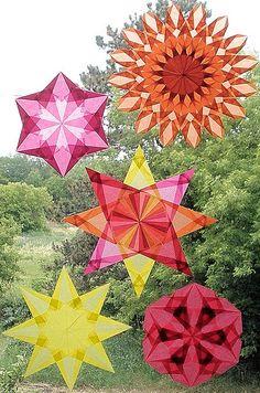 Waldorf Window Star Kite Paper - Create beautiful Waldorf Window ...