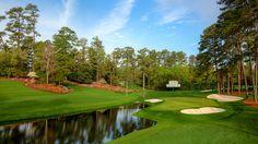 2012 #Masters Tournament: Hole No. 16 - Redbud, Par 3, 170 Yards #golf #PGA