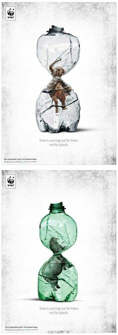 WWF:: Time is running out for them, not for plastic.