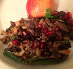 This Lamb Stuffed Pepper is delicious! Get the full recipe here.