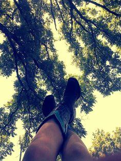 Takin a break under a good ol' shade tree :)