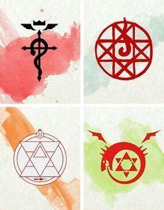 Fullmetal Alchemist symbols
