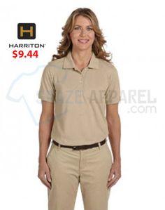 Buy Harriton M265W Ladies  5.6 oz. Easy Blend Polo as lowest price at  9.44 890549b2e2f