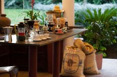 Cata de café Don Manilo en Sazagua