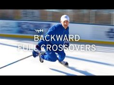 The ultimate backward skating training lesson! Learn how to perform backward crossovers perfectly in this video. Here Sean Walker's iTrain Hockey offers you . Hockey Workouts, Hockey Drills, Hockey Players, Hockey Training, Sports Training, Inline Hockey, Cycling Gloves, Funny Slogans, Ice Hockey