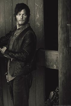 Daryl Dixon. I love The Walking Dead, he's my favorite.