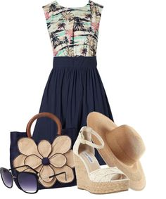 """""""Hawaiian vacation"""" by kswirsding on Polyvore"""
