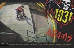 1031 Skateboards - Jason Adams Ad (2011)