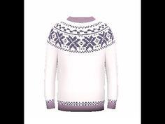 "Как связать детский свитер спицами «Лопапейса». How to knit sweater ""Lopapeysa"" for your kid - YouTube"