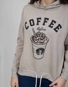 Sudadera coffee-Shana