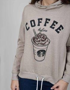 Sudadera coffee-Shana