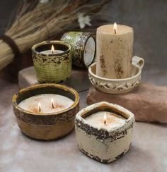 Swan Creek Candles...I'm obsessed with these!!! I can smell my espressro candle without lighting it!
