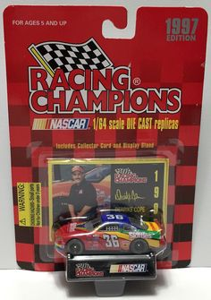 (TAS033958) - 1997 Racing Champions NASCAR Die-Cast Stock Car - Derrike Cope