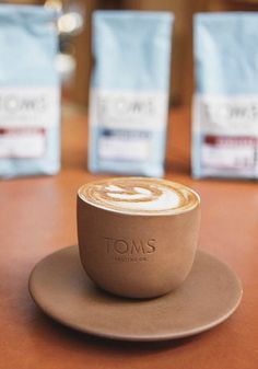 Busy weekend ahead. But first? TOMS Roasting Co. Coffee.