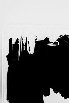 Clothes rack Black Clothes
