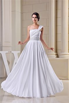 Be effective with this product New Arrival Desig... and stop doubting yourself, see it on Costbuys http://www.costbuys.com/products/new-arrival-design-fashion-vintage-wedding-dresses-2016-beading-one-shoulder-bride-gown-white-ivory-vestidos-de-noiva-nr33094?utm_campaign=social_autopilot&utm_source=pin&utm_medium=pin