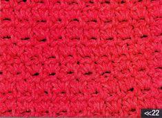 Patrón #1087: Punto Cerrado a Crochet   CTejidas [Crochet y Dos Agujas]