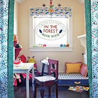 Floating On Cloud9: In the Forest | Book Nook - Cozy Corner