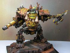 Ork Mega Dread Bad Moon 40k Warhammer