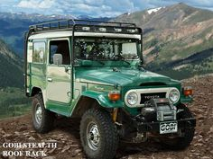 Roof Rack, GOBI - FJ40