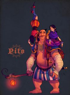 AnD - Pito and Twins by *nicholaskole on deviantART