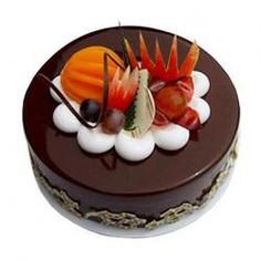 Buy Fresh Fruit Chocolate Cakes Online Order Now