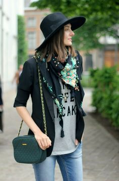 Paulien, from personal style blog Polienne: WESTERN CHIC