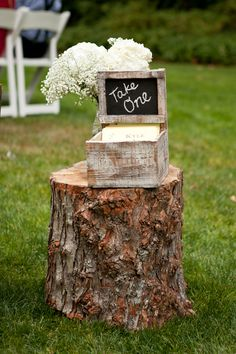 chalkboard wedding centerpieces