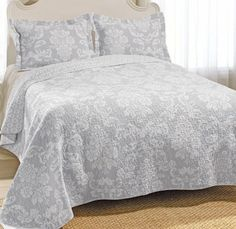 Laura Ashley Lidia Quilt Set. #BeddingStyle #floral #LauraAshley ... : laura ashley caroline quilt - Adamdwight.com