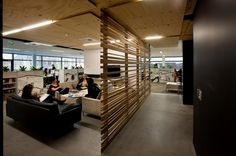 meeting lounge of Fresh and Modern Office Interior