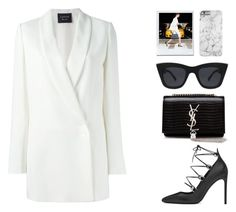 Designer Clothes, Shoes & Bags for Women How To Wear Blazers, Lanvin, Spring Summer Fashion, Yves Saint Laurent, Street Style, Clothes For Women, Female, Womens Fashion, Polyvore
