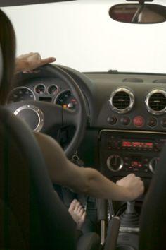 Bus driver pulls over so schoolgirls can piss - 1 part 8