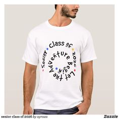 Shop senior class of 2027 T-Shirt created by ayraza. Senior Sweatshirts, Senior Class Shirts, Closet Staples, Fitness Models, Animal, Unisex, Hoodies, Casual, Sleeves