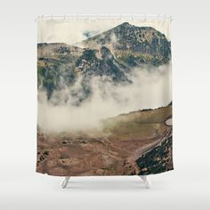 mountain hike shower curtain