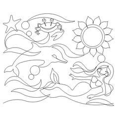 Mermaid Lagoon Quilt Design
