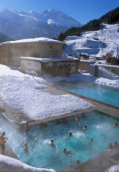Travel Inspiration for Austria - Bad Gastein, Austria - I have been to this natural hot spring and it is absolutely incredible