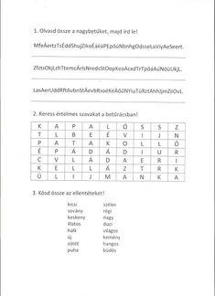 GYAKORLÓ FELADATLAP MAGYAR NYELV ÉS IRODALOMBÓL - webtanitoneni.lapunk.hu 1 J, Periodic Table, Writing, Education, Reading, Periotic Table, Word Reading, The Reader, Being A Writer