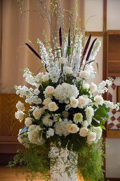 Charlotte Design: Weddings - Ceremony flowers