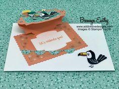 Birthday Bonanza Easel Card – Toucan 2 - #electroniccards - Birthday Bonanza Easel Card – Toucan 2...