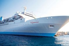 The Thomson Spirit is the longest-serving member of our fleet, and it's still a firm favourite with customers thanks to its warm, home-from-home atmosphere. It offers up all the hallmarks of classic cruising – think fine dining, formal evenings, and elegant lounges made for after-dinner tipples. Every cabin onboard has a homely feel, too, along with air-conditioning and plenty of space. And if you pay a bit extra, you can also enjoy a sea view.