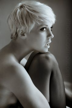 short hair, haircut, blonde, pixie, pixie cut