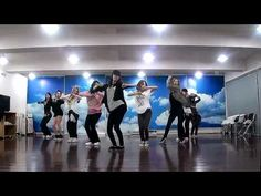 SNSD - Mr. Taxi / The Boys Dance Practice And here is SNSD practicing in said room. Oh Ah