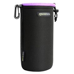 Lens Pouch Evecase Heavy Duty Neoprene Pouch Bag with Soft Flush interior For DSLR Digital Camera Lens  Large * Check out this great product.