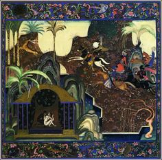 Danish-American illustrator Kay Nielsen (1886–1957) - A Thousand and One Nights