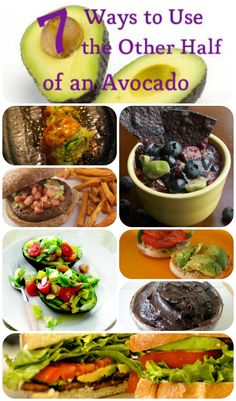 7 Ways to Get Rid of the Other Half of the Avocado #health #vegan #avocado #veganism #whatveganseat #recipes #cooking #healthy #plantbased