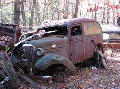 37 - 38 Chevy panel
