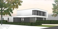 Ontwerp woning Elst door Maas Architecten. Maas, Sliding Doors, Interior Architecture, Modern, Patio, Mansions, House Styles, Home Decor, Architecture Interior Design