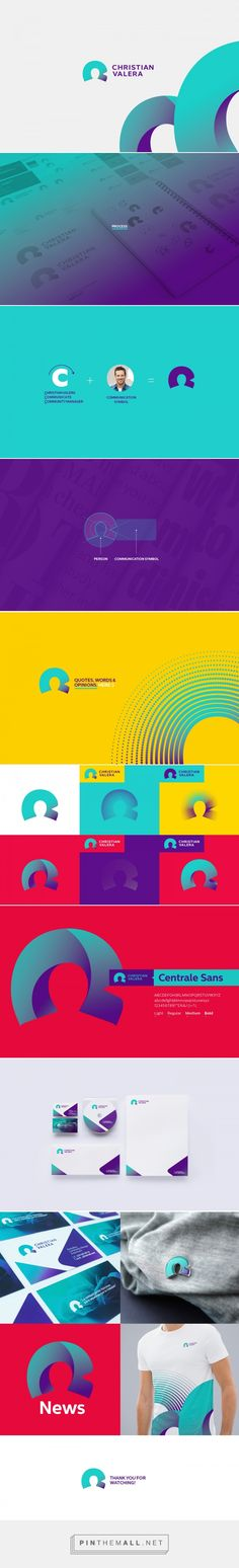 Christian Valera - Communication Branding on Behance... - a grouped images picture - Pin Them All