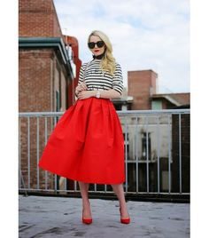 Style a midi skirt for summer! - Atlantic-Pacific