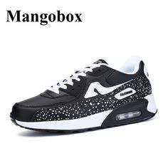 Shoes Men Sport Black Blue Running Shoes Women 2017 Spring Summer Sport Trainers for Men Shockproof Athletic Running Shoes Air #Affiliate